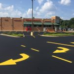 Spartanburg SC Guardtop Sealcoat Asphalt Paving Line Striping Walgreens