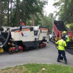 Skidaway Island GA Guardtop Sealcoat Asphalt Paving Line Striping Crack Filling Repair Milling Resurfacing