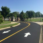 VCOM Spartanburg SC Guardtop Sealcoat Asphalt Paving Line Striping